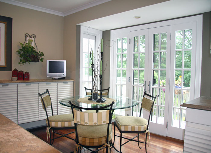 beautiful dining area - A Touch of Staging